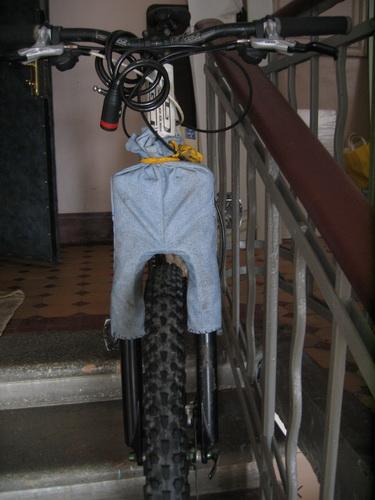 Пыльники для велосипеда своими руками 5